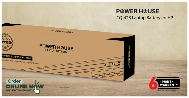 Power House 440 G2/VI04 Notebook Battery For HP
